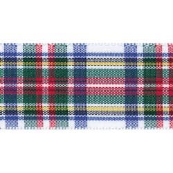 25mm Woven Tartan Ribbon by...