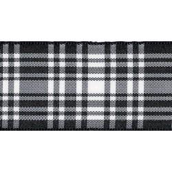 70mm Woven Tartan Ribbon by...